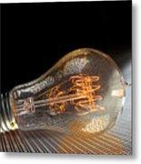 Electricentric Metal Print