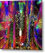 Electromagnetic Light Metal Print