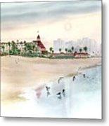Elegance By The Sea, Coronado Metal Print