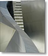 Elegance Of Steel And Concrete Metal Print