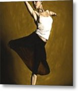 Elegant Dancer Metal Print by Richard Young