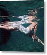 Elegant Mermaid II Metal Print