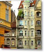 Elegant Vienna Apartment Building Metal Print