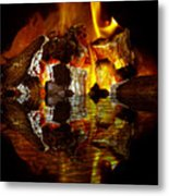 Element Reflections Metal Print