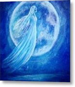 Elemental Earth Angel Of Water Metal Print