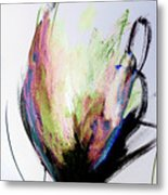 Elemental In Color Abstract Painting Metal Print