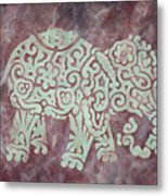 Elephant - Animal Series Metal Print by Jennifer Kelly