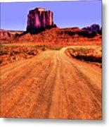 Elephant Butte Monument Valley Navajo Tribal Park Metal Print