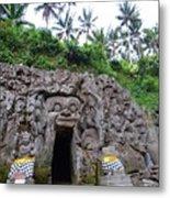 Elephant Cave Temple Metal Print