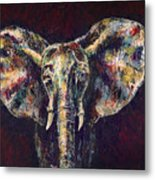 Elephant Ears Metal Print