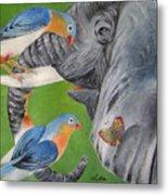 Elephant Fantasy1 Metal Print