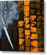 E.l.e.p.h.a.n.t Metal Print