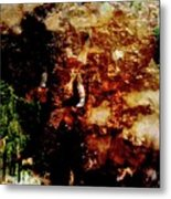 Elephant Rock Metal Print