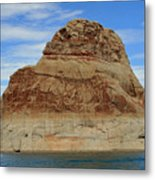 Elephant Rock Lake Powell Metal Print by Chuck Wedemeier
