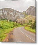 Elephant Rock, Malawi Metal Print