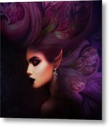 Elf Mystical Beauty Metal Print
