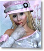 Elfin Beauty Metal Print