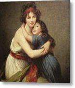 Elisabeth Vigee-lebrun, 1755-1842. Metal Print