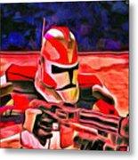 Elite Trooper - Da Metal Print