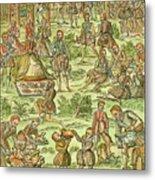 Elizabeth I, 1533-1603 Metal Print