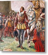 Elizabeth I The Warrior Queen Metal Print