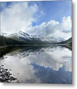 Elizabeth Lake Detail 2 - Glacier National Park Metal Print