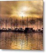 Elk Lake Morning  Metal Print