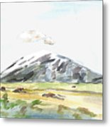 Elk Mountain Wyoming Metal Print