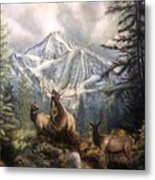 Elk Ridge Metal Print