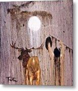 Elk Spirit Metal Print
