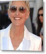 Ellen Degeneres In Attendance Metal Print by Everett