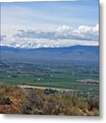 Ellensburg Valley With Sagebrush And Lupine Metal Print