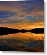 Ellenton Lake Sunset 02 Metal Print
