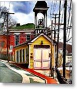 Ellicott City Fire Museum Metal Print