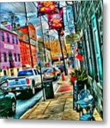 Ellicott City Street Metal Print