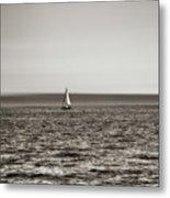 Elliott Bay Sailing Metal Print