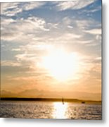 Elliott Bay Sunset Metal Print