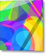 Ellipses 10 Metal Print