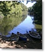 Elm Bank - Boats Metal Print