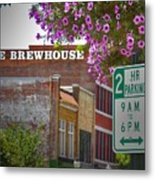 Elm Street Downtown Greensboro Metal Print