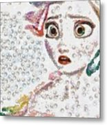 Elsa Art Pearlesqued In Fragments  Metal Print