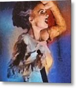 Elsa Lanchester, Bride Of Frankenstein Metal Print
