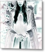 Elven Princess Metal Print