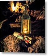 Elves Lantern Metal Print