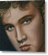 Elvis 24 1955 Metal Print