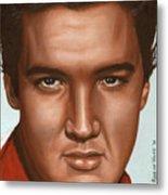 Elvis 24 1958 Metal Print