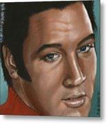 Elvis 24 1968 Metal Print