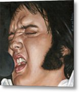 Elvis 24 1977 Metal Print
