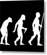 Elvis Evolution Pop Art Metal Print