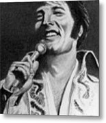 Elvis No. 8 Metal Print